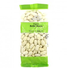 BUTTER BEANS - DRIED (Suma) 500g