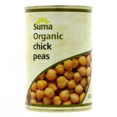 CHICK PEAS (Suma) 400g