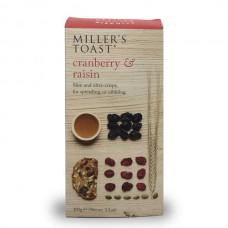 CRANBERRY & RAISIN TOAST (Miller's) 100g