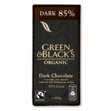 DARK CHOCOLATE 85% (Green & Black's) 100g