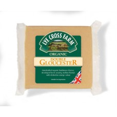 DOUBLE GLOUCESTER CHEESE (Lye Cross Farm) 245gm
