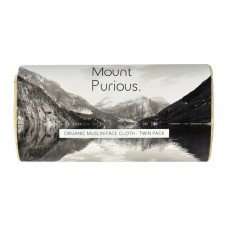 ORGANIC MUSLIN FACE CLOTH (Mount Purious.) x 2
