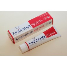 TOOTHPASTE - FENNEL WITH FLUORIDE (Kingfisher) 100ml