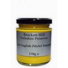 HOT ENGLISH MUSTARD (Bracken Hill) 150g