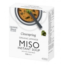 INSTANT MISO SOUP (Clearspring) x 4