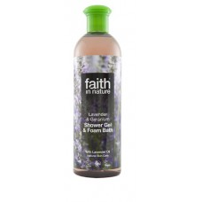 SHOWER GEL - LAVENDER & GERANIUM (Faith in Nature) 400ml