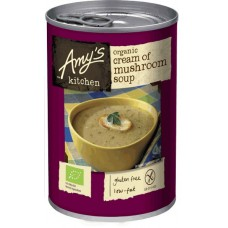 MUSHROOM SOUP (Amy's Kitchen) 400g