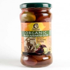 OLIVES - MIXED MARINATED (Gaea) 300g