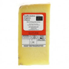 RAW CHEDDAR (Staffordshire Organic)
