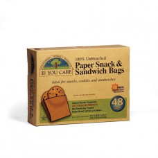 PAPER SANDWICH BAGS (If You Care) x 48 bags