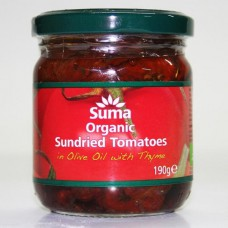 SUNDRIED TOMATOES IN OIL (Suma) 190g