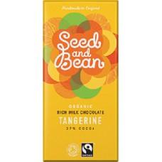 TANGERINE CHOCOLATE (Seed & Bean) 100g
