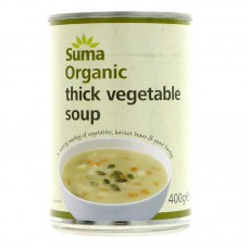 THICK VEGETABLE SOUP (Suma) 400g