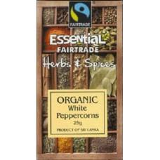 WHITE PEPPERCORNS (Essential) 25g