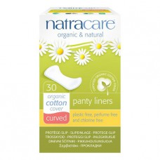 PANTY LINERS - CURVED (Natracare) x30